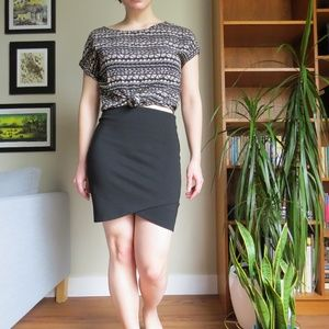 Aritzia Sunday Best Primrose Skirt Black